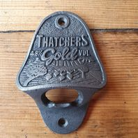 Wall Mounted Bottle Opener Thatchers Gold